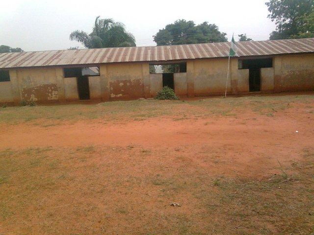 Primary School block, Otuocha Madonna
